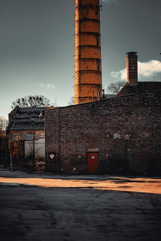 yellow power plant